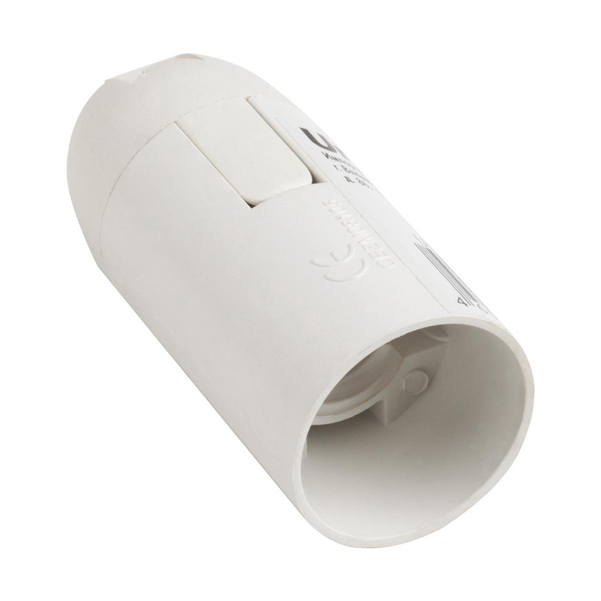 Патрон Uniel ULH-01-E14-Plastic патрон uniel ulh e14 ceramic для лампы керамический е14