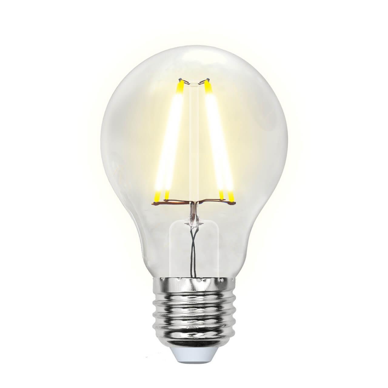 Фото - Лампочка Uniel LED-A60-8W/NW/E27/CL PLS02WH SKY A лампочка uniel led a60 10w ww e27 cl pls02wh sky