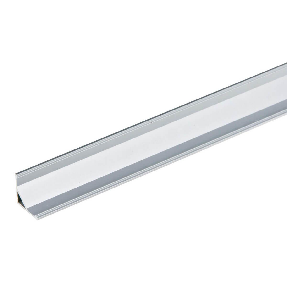 Профиль для ленты Uniel UFE-A05 Silver UFE-A (для светодиодных лент шириной 10 мм)