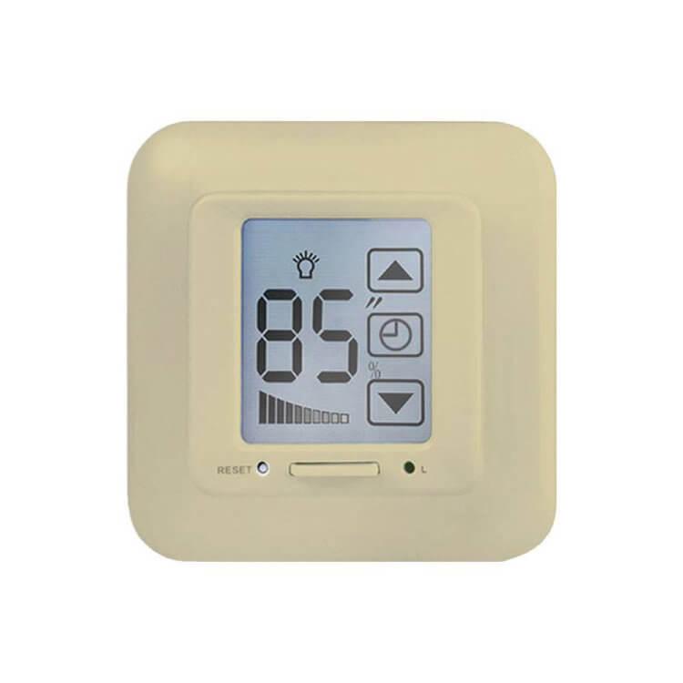 купить Диммер (04029) Uniel USW-001-LCD-DM-40/500W-TM-M-BG по цене 2385 рублей