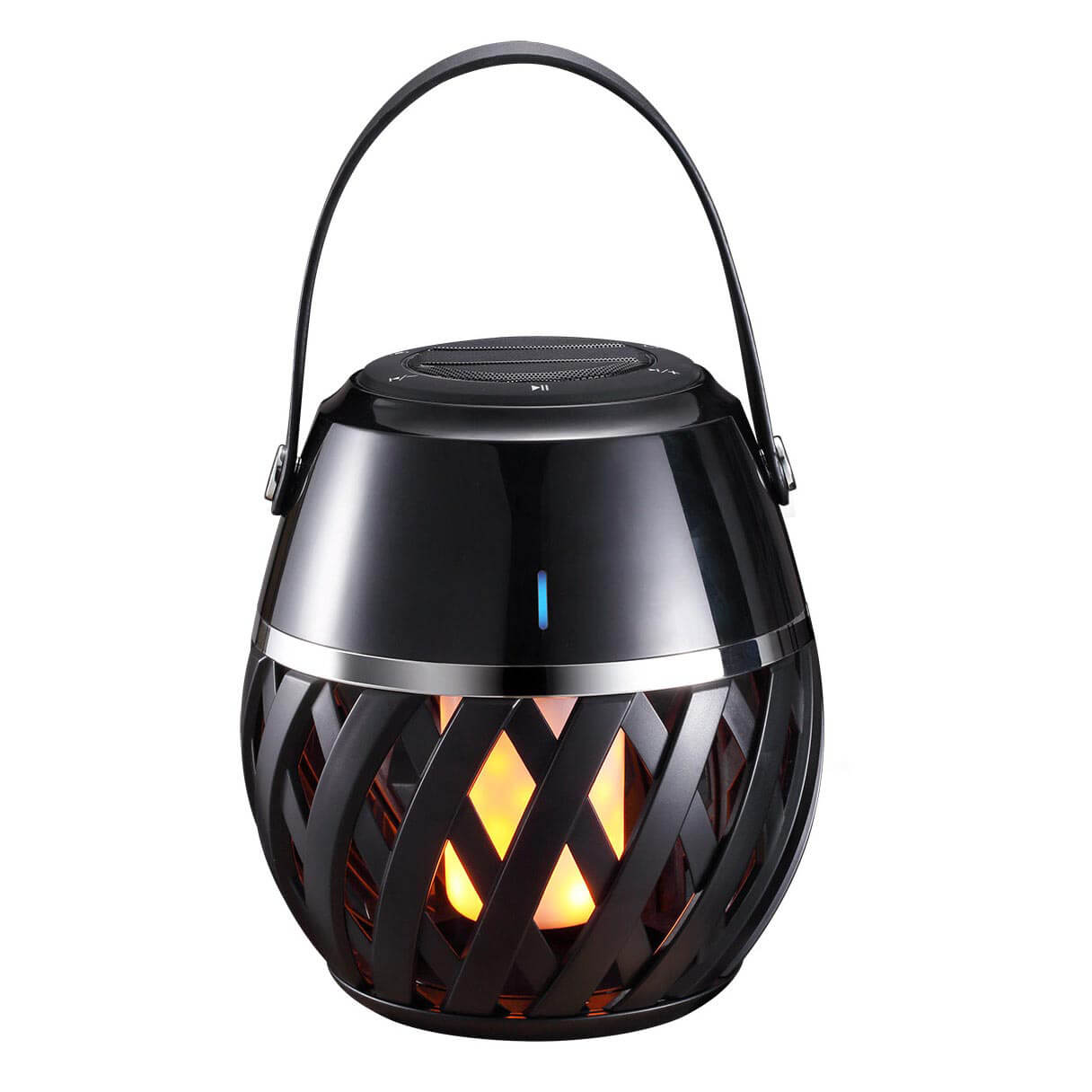 Фонарик Uniel ULD-R201 LED/Flame Black ULD-R201 (Воспроизводит музыку (Bluetooth))