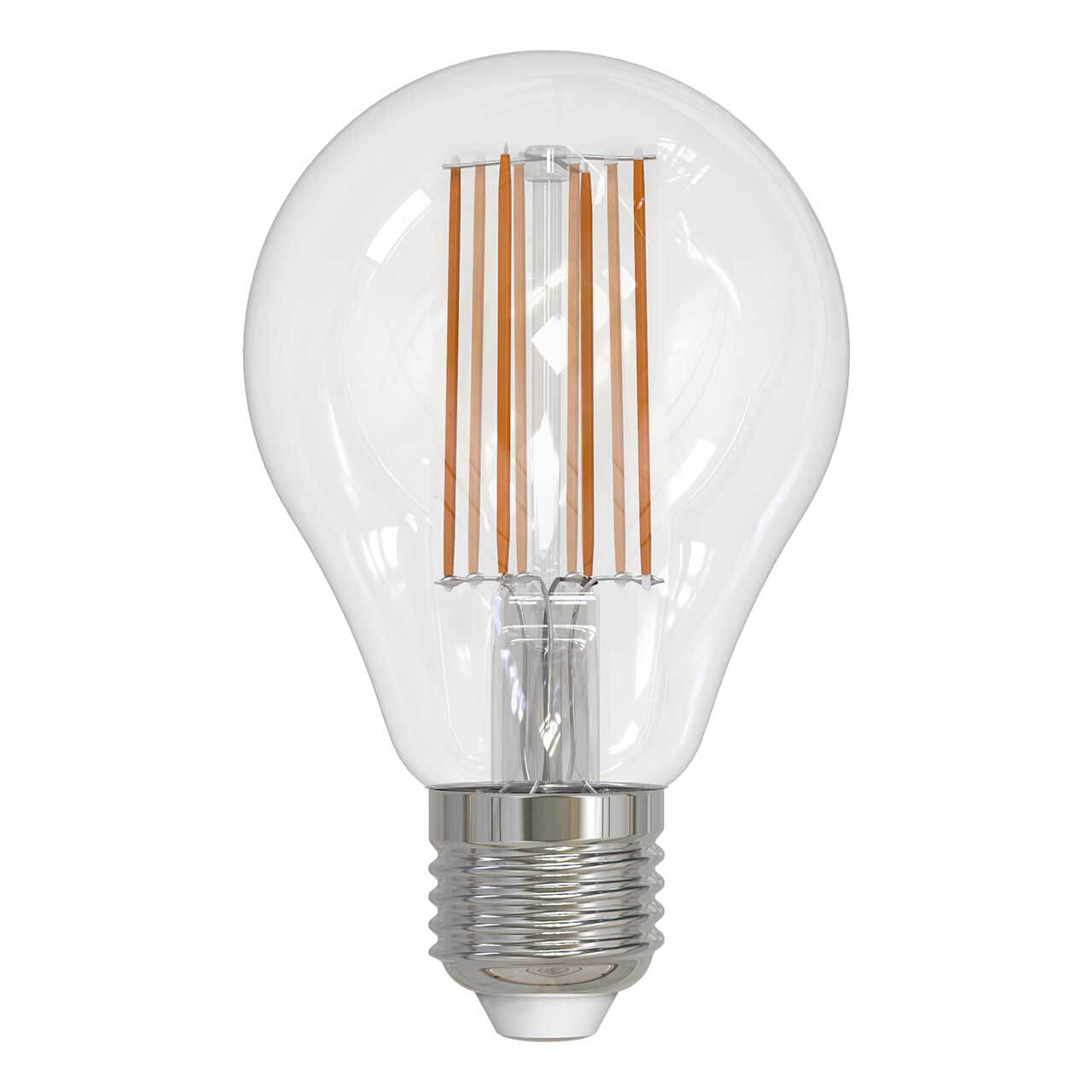 Фото - Лампочка Uniel LED-A70-17W/3000K/E27/CL PLS02WH LED-A60 лампочка uniel led a60 10w ww e27 cl pls02wh sky