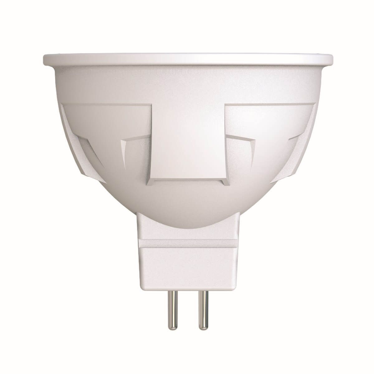 Лампа светодиодная диммируемая (UL-00003989) Uniel GU5.3 6W 4000K матовая LED-JCDR 6W/NW/GU5.3/FR/DIM PLP01WH