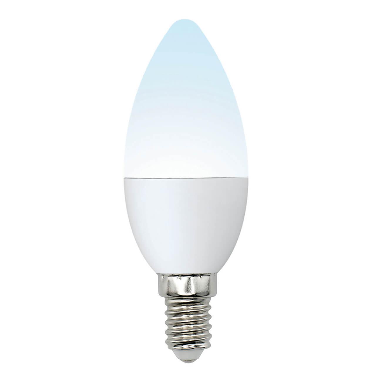 цена на Лампочка Uniel LED-C37-6W/NW/E14/FR/MB PLM11WH Multibright