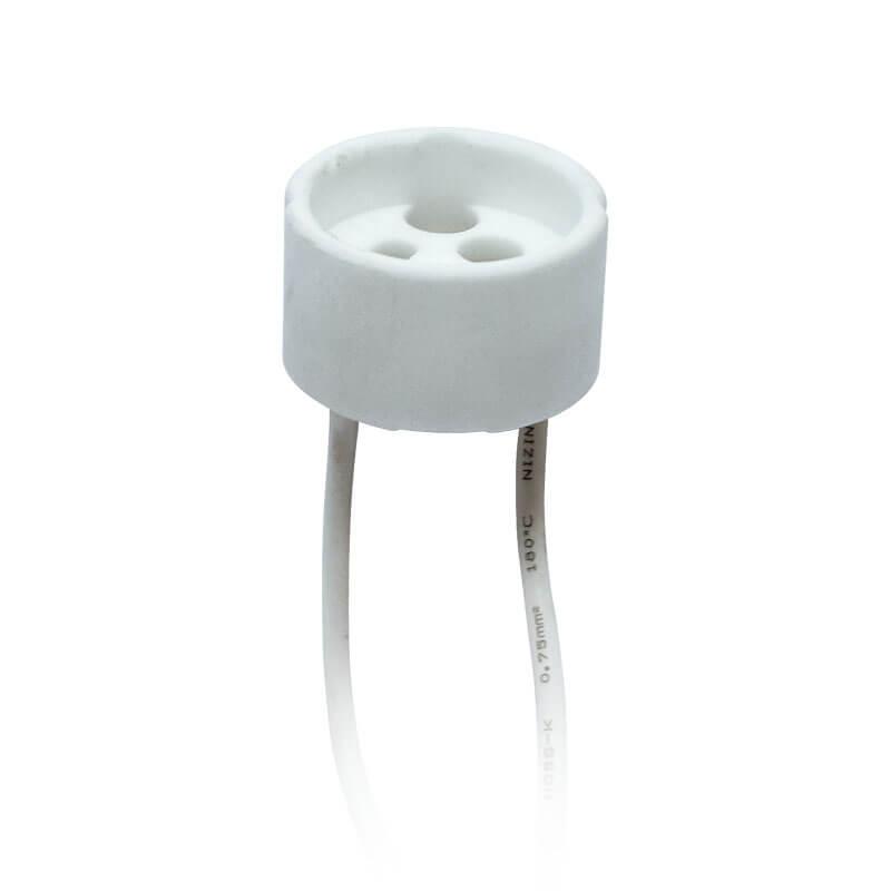 Патрон керамический GU10 (02284) Uniel ULH-GU10-Ceramic-15cm патрон uniel ulh e27p ceramic