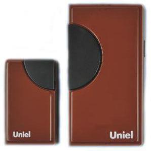 цена на Звонок беспроводной (03608) Uniel UDB-002W-R1T1-32S-100M-RD