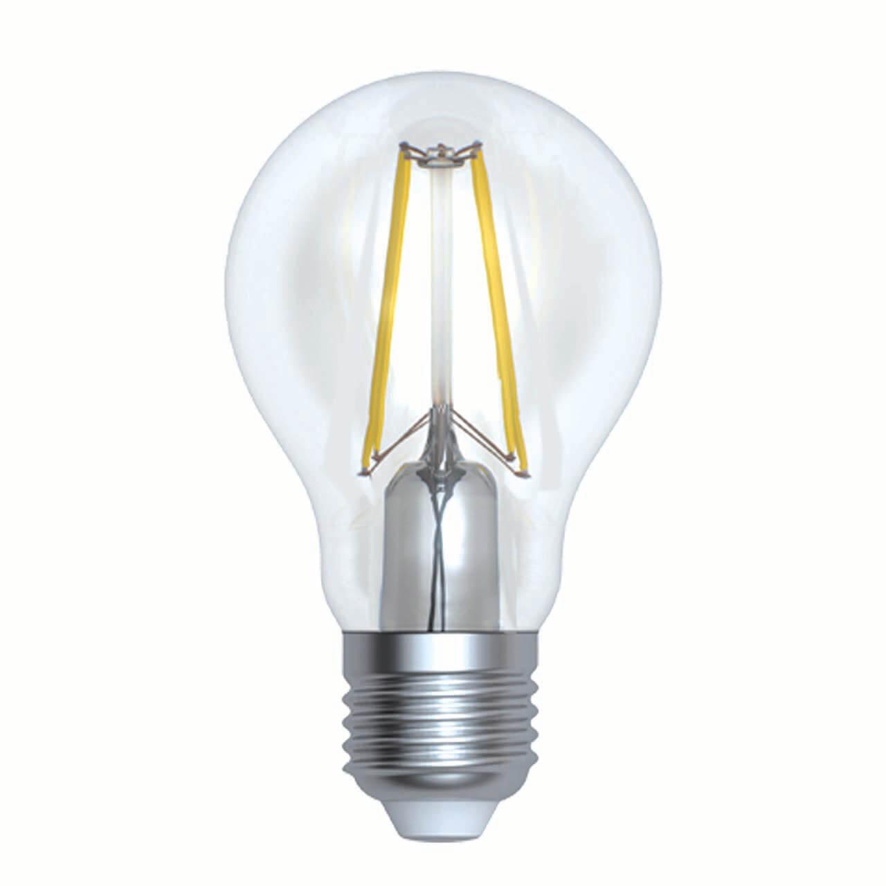 Лампочка Uniel LED-A60-15W/4000K/E27/CL PLS02WH LED-A60