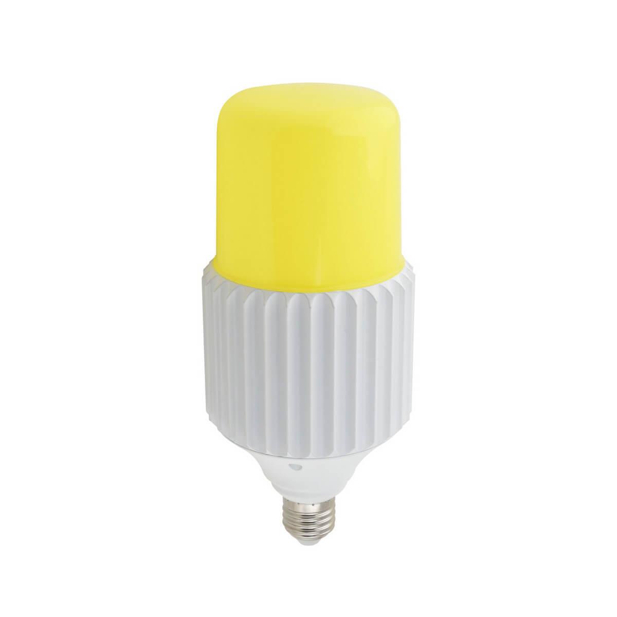 Лампа светодиодная сверхмощная (UL-00004063) Uniel E27 50W 6000K желтая LED-MP200-50W/6000K/E27/PH ALP06WH