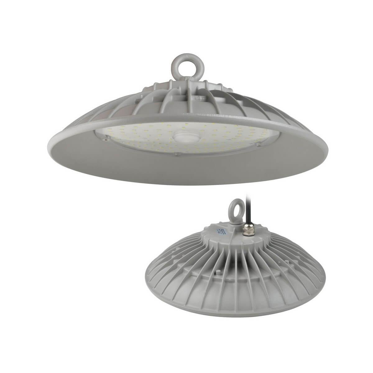 Подвесной светодиодный светильник (UL-00003180) Uniel ULY-U33B-100W/DW IP65 Silver подвесной светодиодный светильник ul 00002057 uniel uly u30b 100w dw ip65 silver