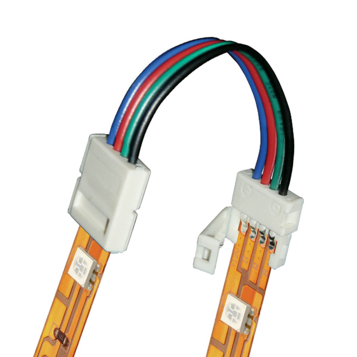Коннектор для светодиодных лент (06613) Uniel UCX-SS4/B20-RGB White 020 цена и фото