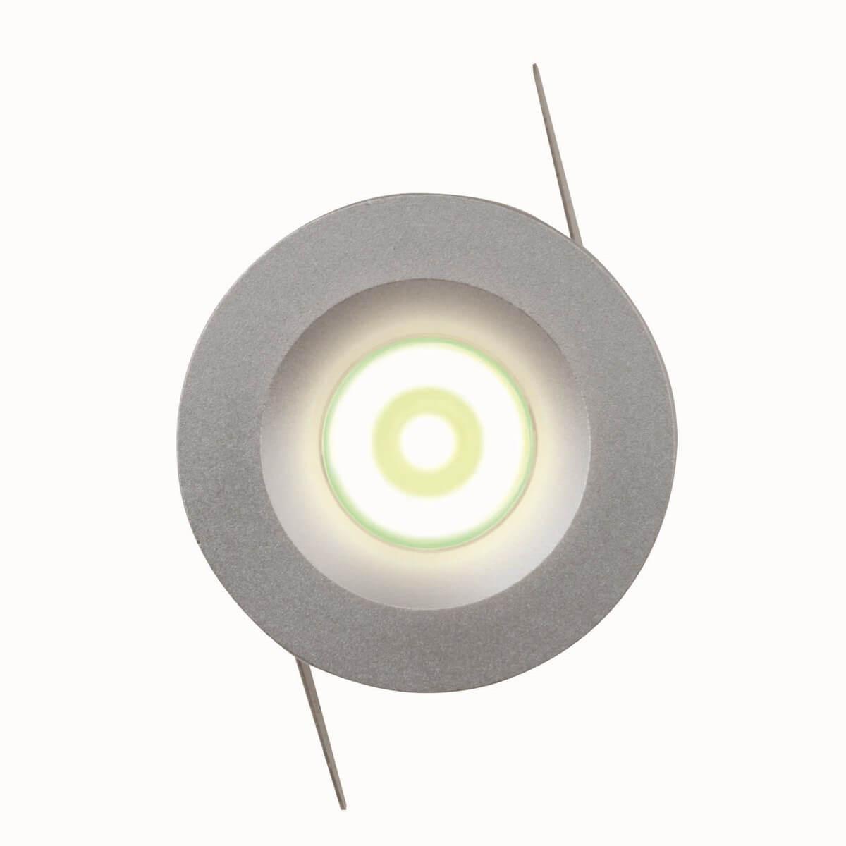 Встраиваемый светодиодный светильник (07624) Uniel ULM-R02-1W/NW IP20 SAND Silver koy r02 jk71