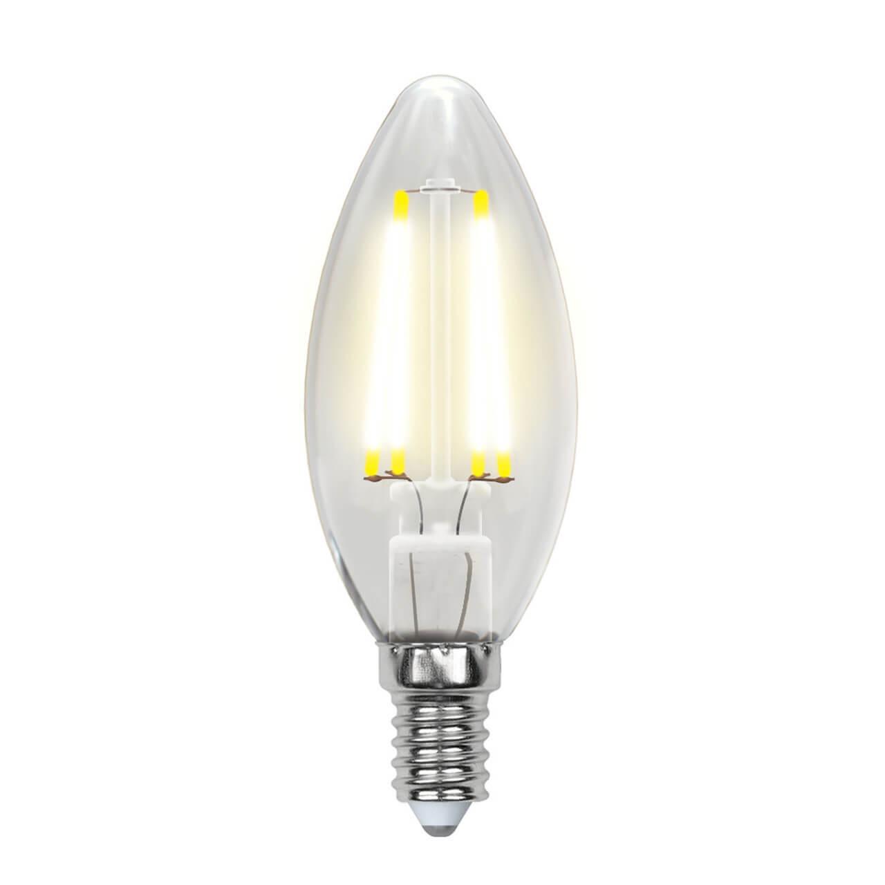 цена на Лампочка Uniel LED-C35-6W/WW/E14/CL GLA01TR AIR C