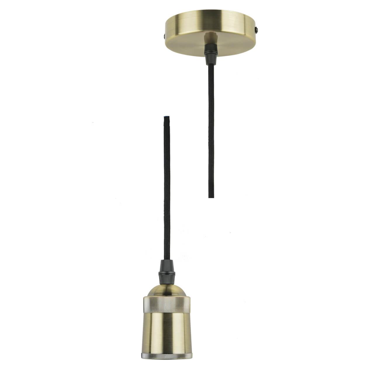Патрон (UL-00005286) Uniel Techno DLC-T-S31/E27 TS/1M/BL Bronze патрон uniel ulh e27p ceramic