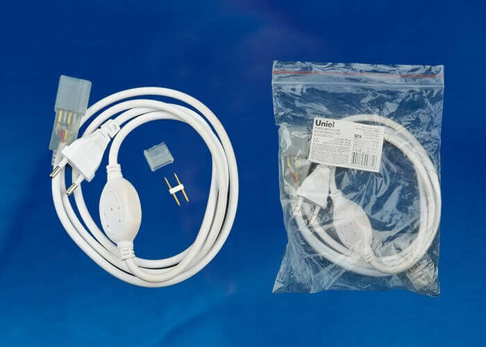 Адаптер питания Uniel UCX-SP2/N21 White 1 Sticker ULS-N21 Flex