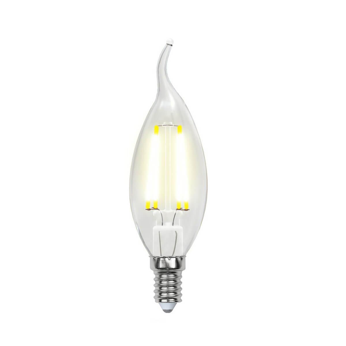 Лампочка Uniel LED-CW35-5W/NW/E14/CL/DIM GLA01TR AIR DIM