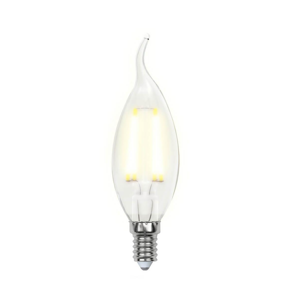 Лампочка Uniel LED-CW35-5W/WW/E14/CL/DIM GLA01TR AIR DIM