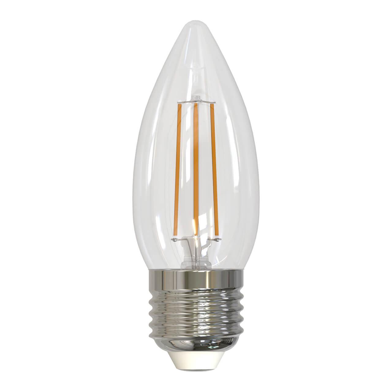цена на Лампа светодиодная диммируемая (UL-00005188) E27 9W 4000K прозрачная LED-C35-9W/4000K/E27/CL/DIM GLA01TR