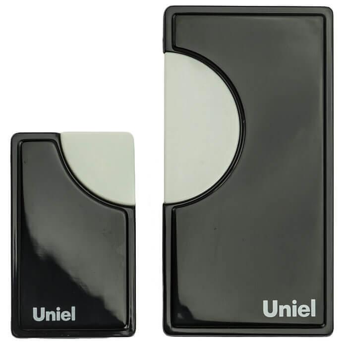 цена на Звонок Uniel UDB-002W-R1T1-32S-100M-BL 1 звонок + 1 кнопка