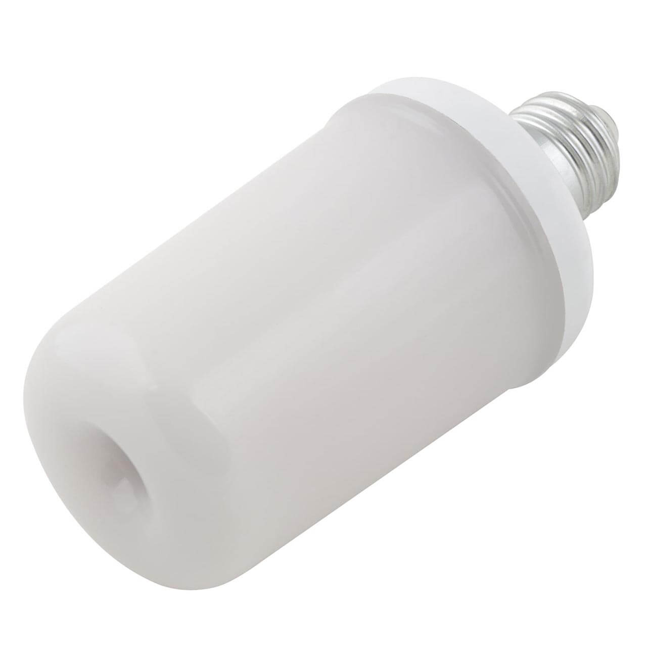 Лампочка Uniel LED-L60-6W/FLAME/E27/FR PLD01WH Red-Flame