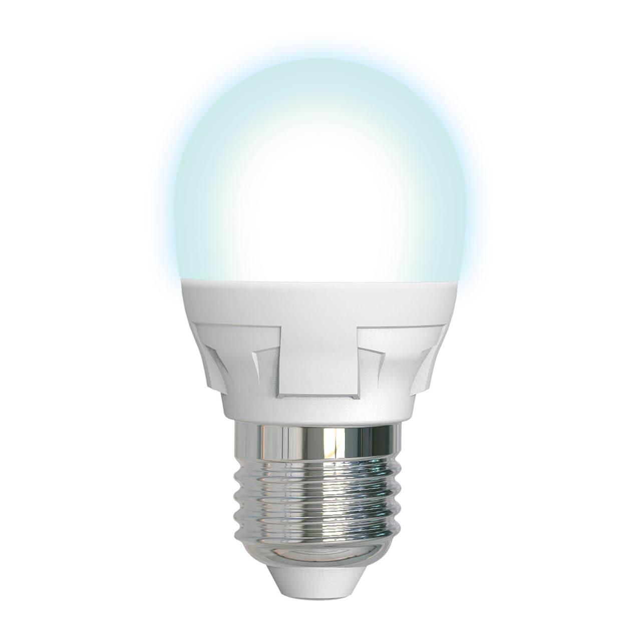 цена на Лампа светодиодная диммируемая (UL-00004301) E27 7W 4000K матовая LED-G45 7W/4000K/E27/FR/DIM PLP01WH