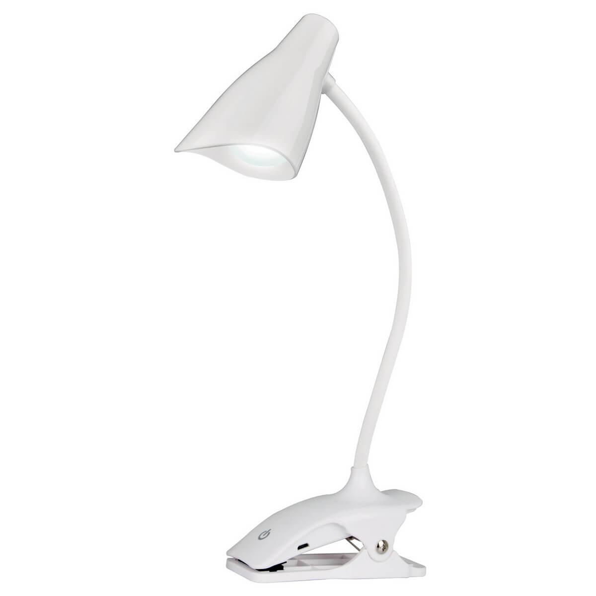 Настольная лампа (UL-00004143) Uniel TLD-560 White/LED/280Lm/5000K/Dimmer