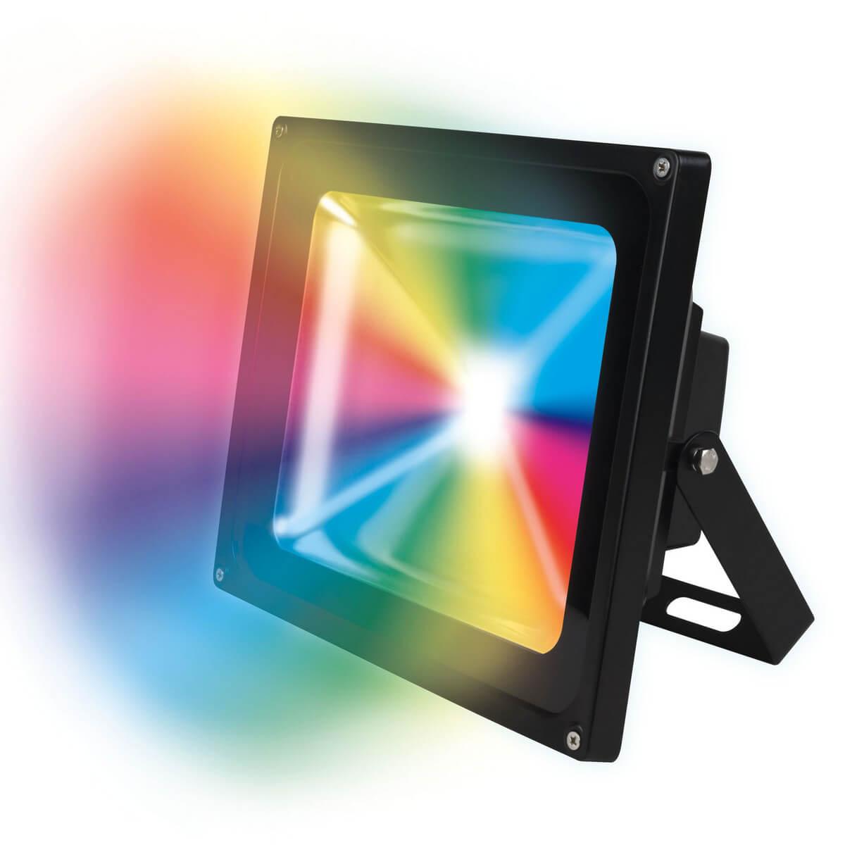 Прожектор светодиодный (08531) Uniel ULF-S01-50W/RGB/RC IP65 110-240В цена