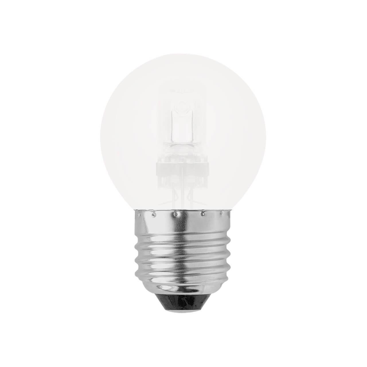 Лампа галогенная (05221) Uniel E27 28W матовая HCL-28/FR/E27 Globe лампа галогенная e27 28w прозрачная 4690389020919