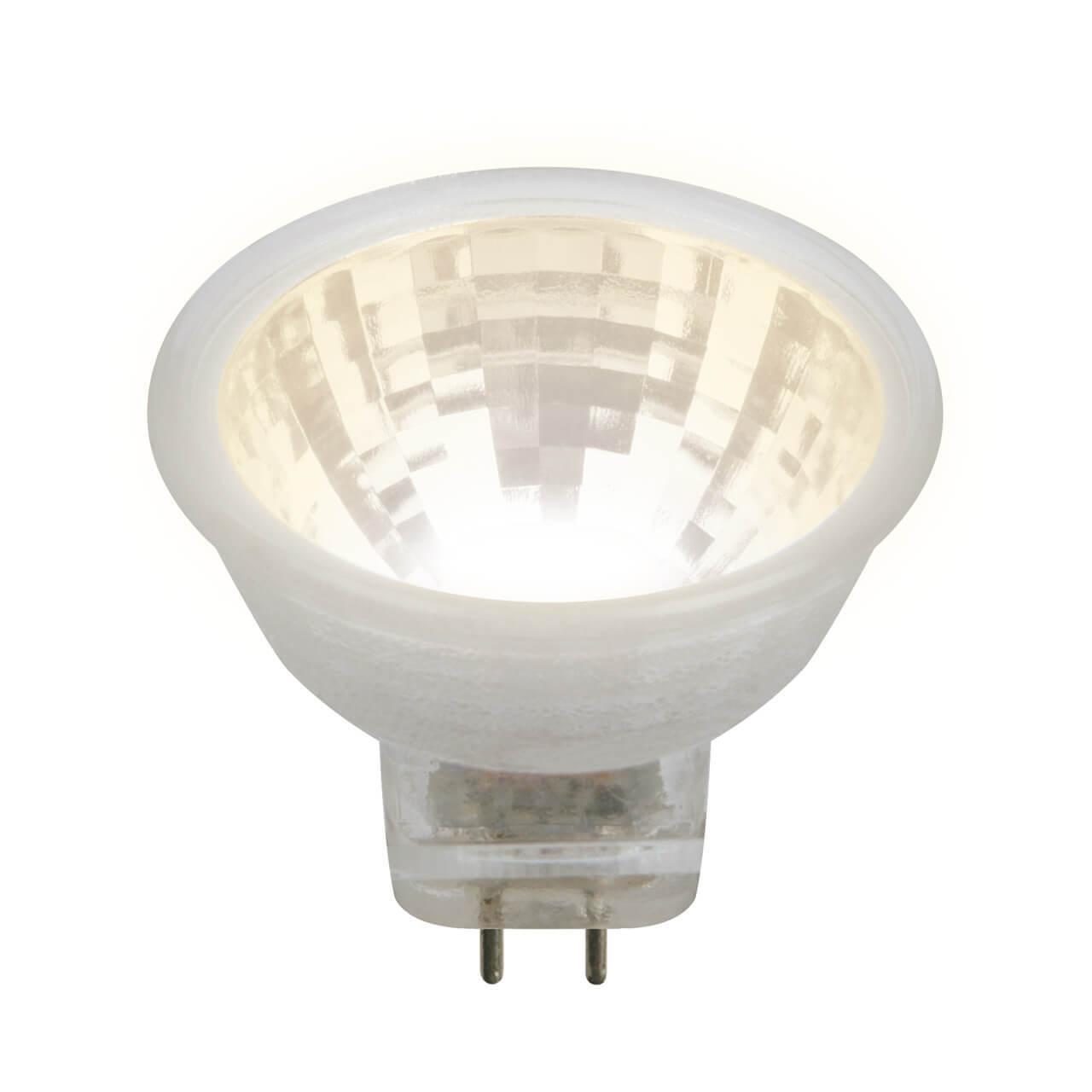 Лампочка Uniel LED-MR11-3W/WW/GU4 GLZ21TR LED-MR11