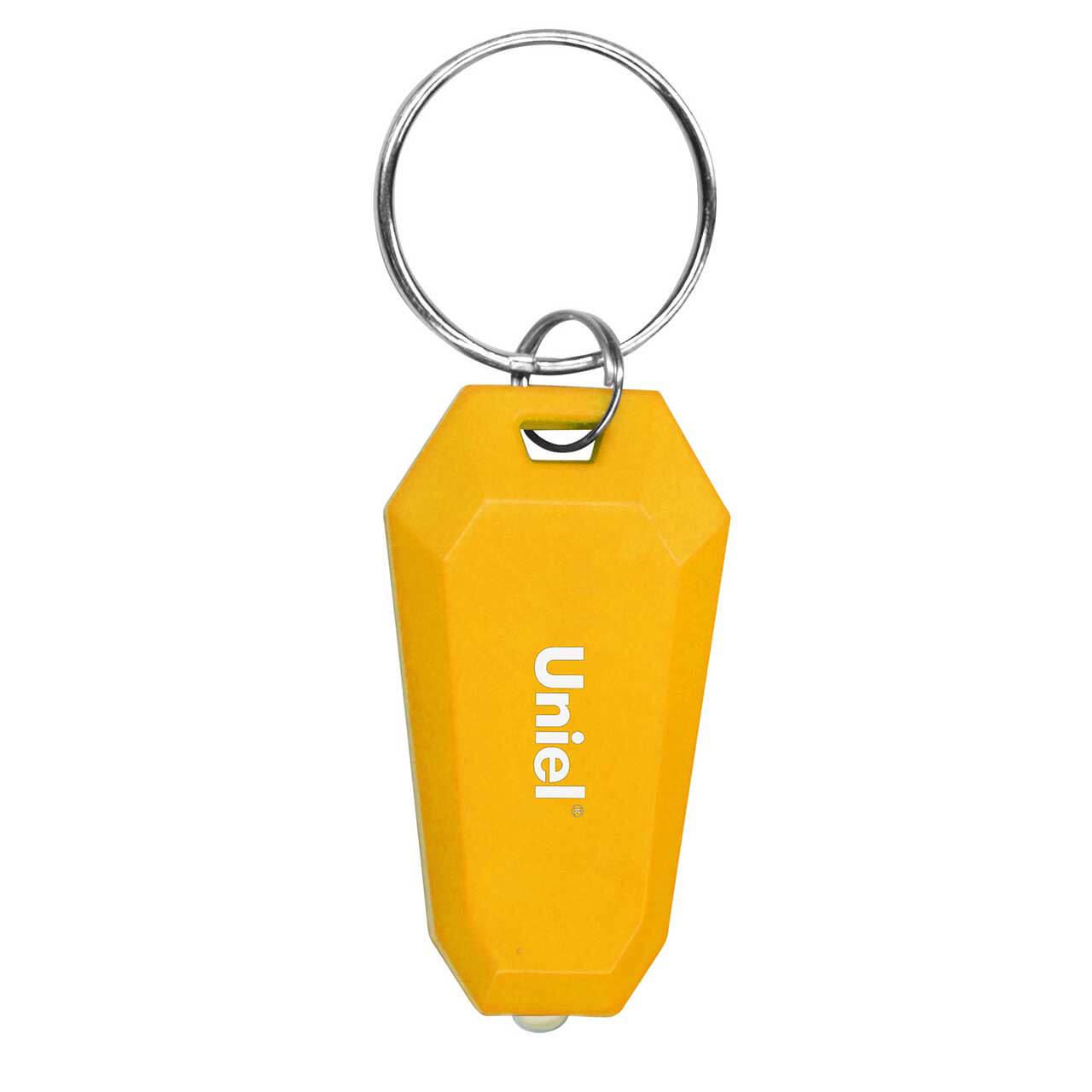 Фонарик Uniel S-KL021-T Yellow Standard Mini фонарь 08789 premium diving – nautilus p wp011 bb yellow uniel 1116587
