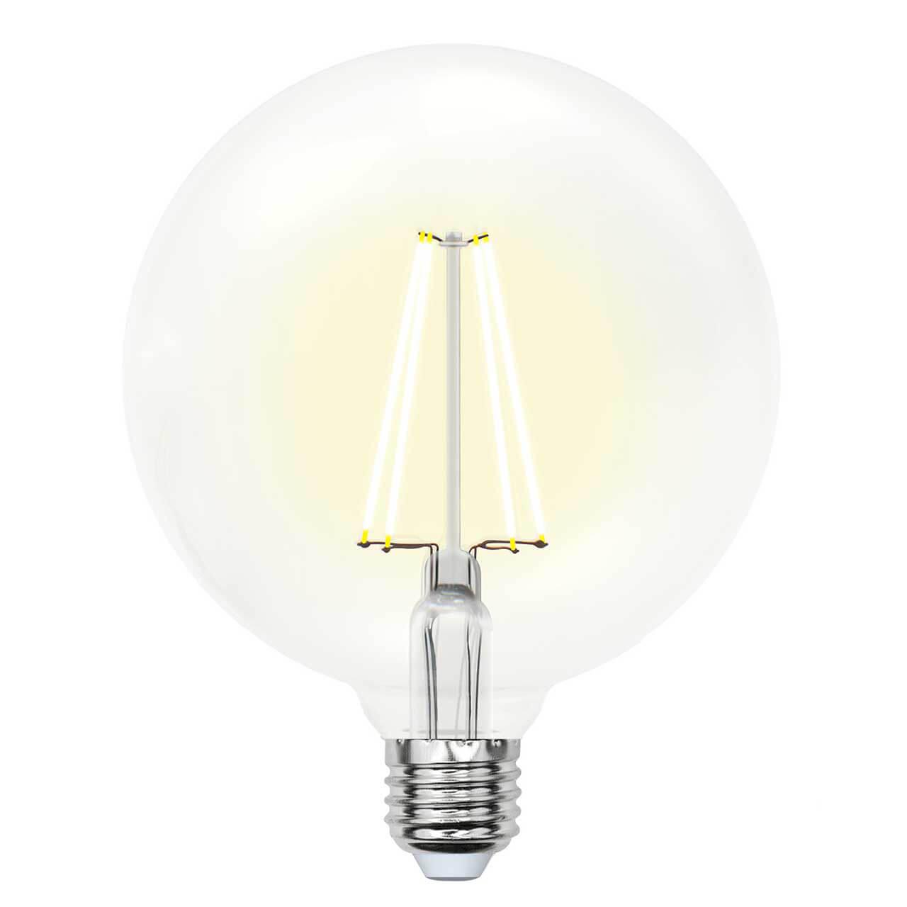 Фото - Лампочка Uniel LED-G125-15W/3000K/E27/CL PLS02WH SKY Globe лампочка uniel led g45 13w 3000k e27 cl pls02wh sky