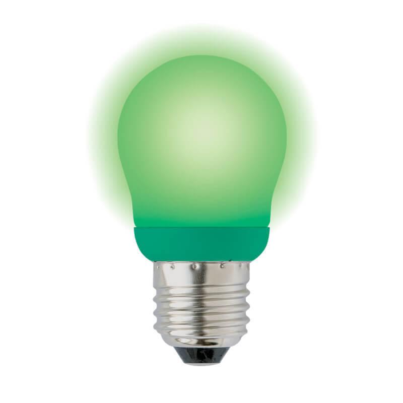 Лампочка Uniel ESL-G45-9/GREEN/E27 G45