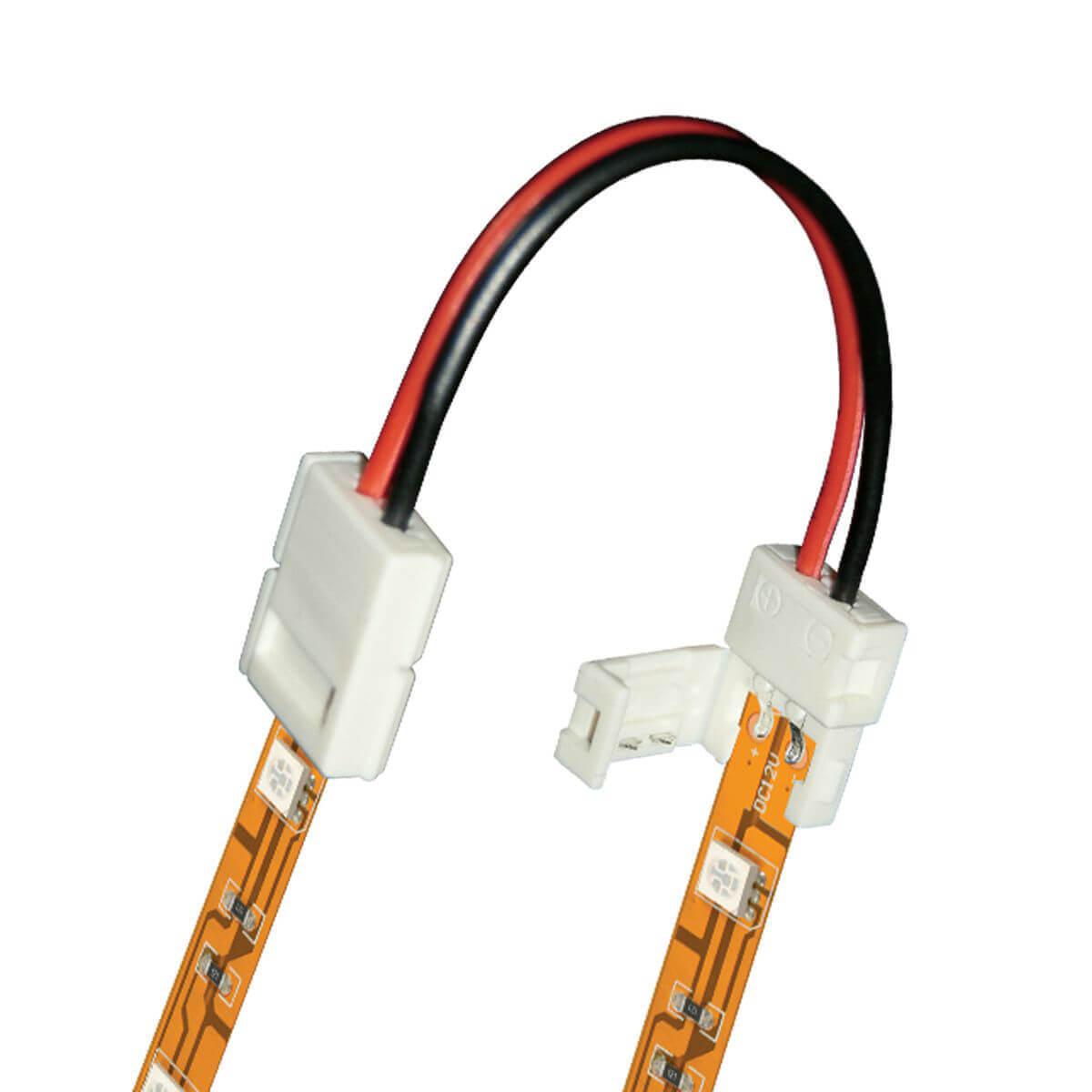 Коннектор для светодиодных лент (06612) Uniel UCX-SS2/B20-NNN White 020 цена и фото