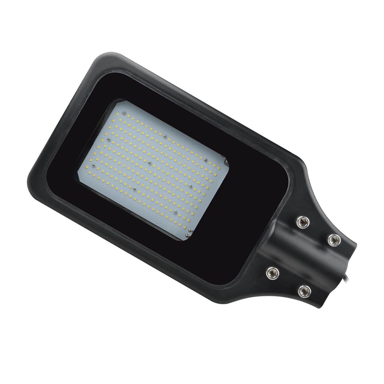Светильник Uniel ULV-R23H-100W/6000К IP65 Black ULV-R23 уличный светодиодный светильник ul 00003301 uniel ulg r001 020 rgb ip65 ball