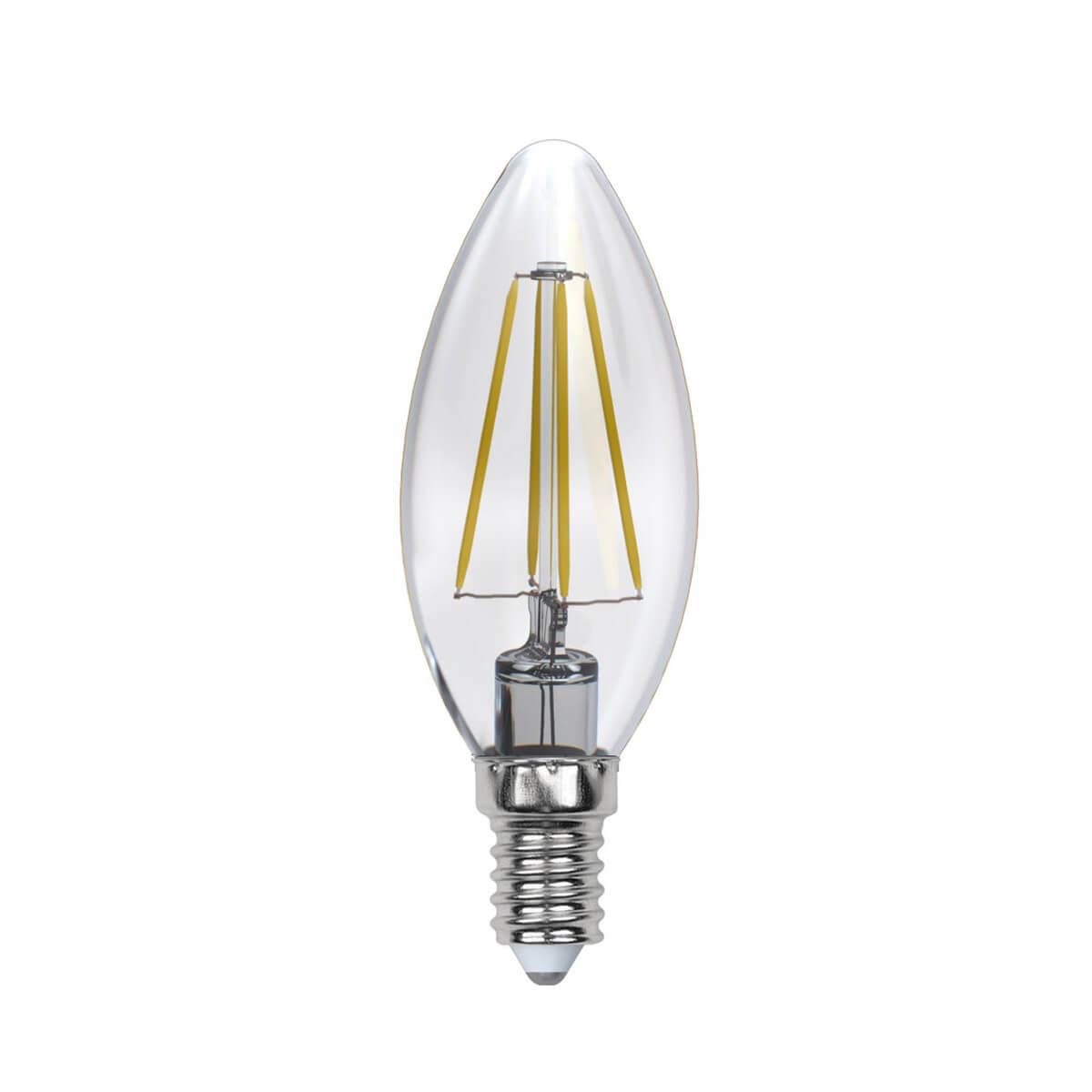 Лампочка Uniel LED-C35-5W/NW/E14/CL/DIM GLA01TR AIR DIM