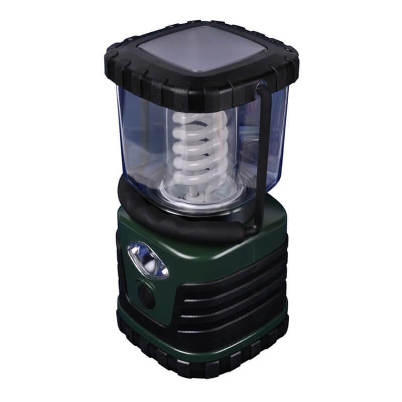 Кемпинговый энергосберегающий фонарь Uniel (03816) от батареек 122х122 13 лм TL091-B Green цена