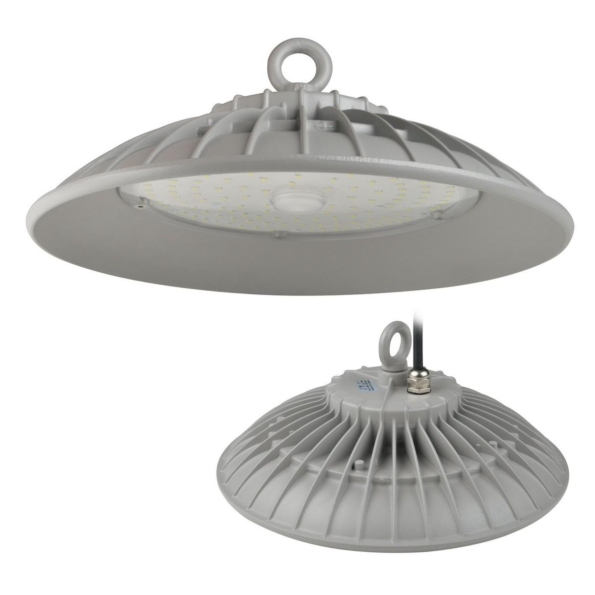 Подвесной светодиодный светильник (UL-00003184) Uniel ULY-U33B-200W/DW IP65 Silver подвесной светодиодный светильник ul 00002057 uniel uly u30b 100w dw ip65 silver
