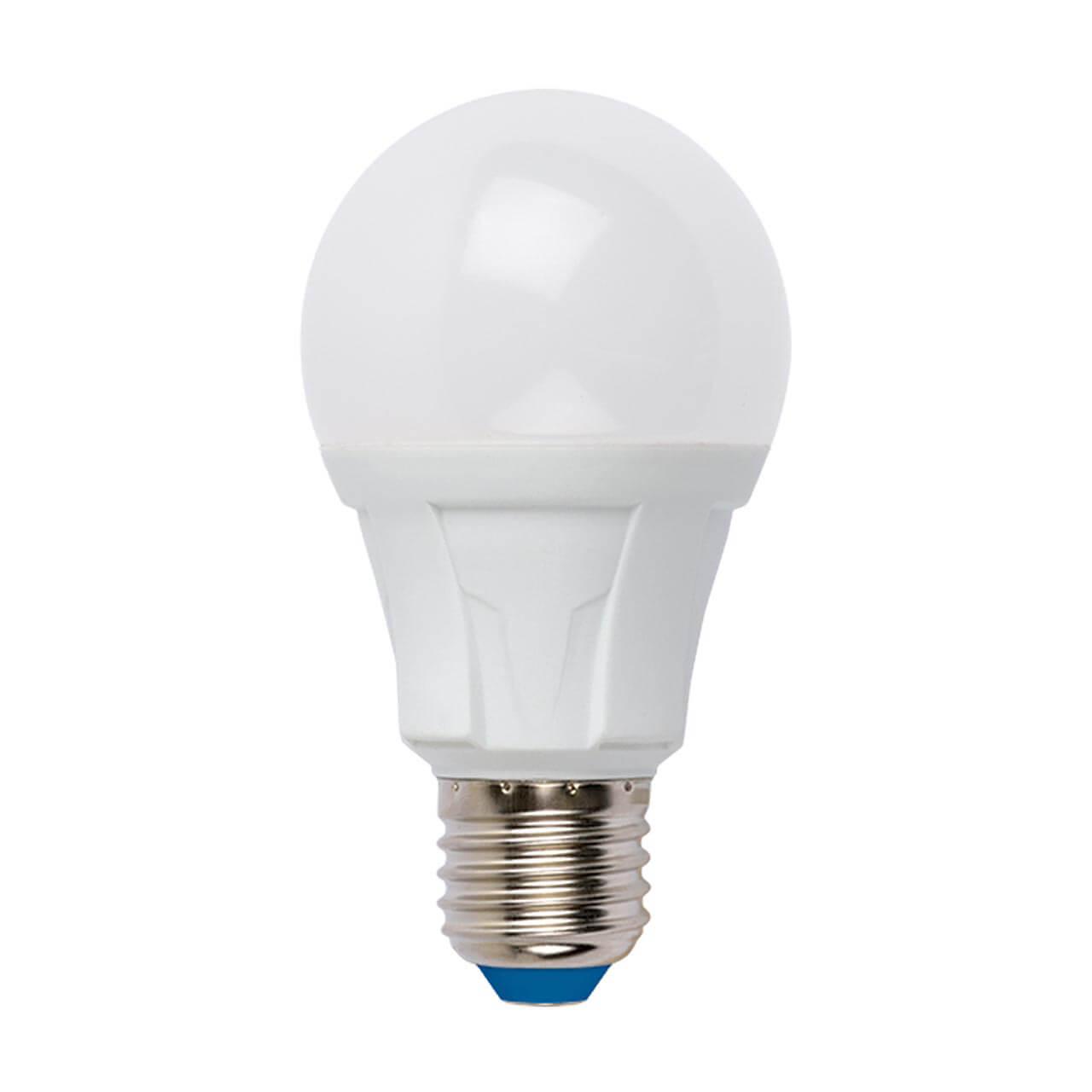 Лампа светодиодная (UL-00005036) E27 18W 3000K матовая LED-A60 18W/3000K/E27/FR PLP01WH цена