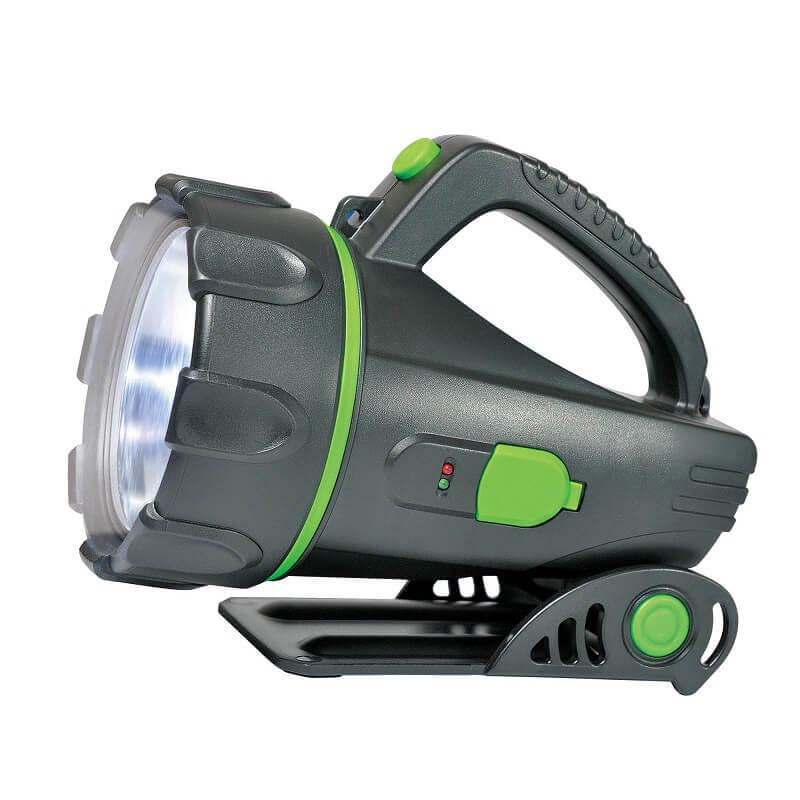 Фонарь-прожектор светодиодный (03489) Uniel аккумуляторный 160 лм S-SL011-BA Black
