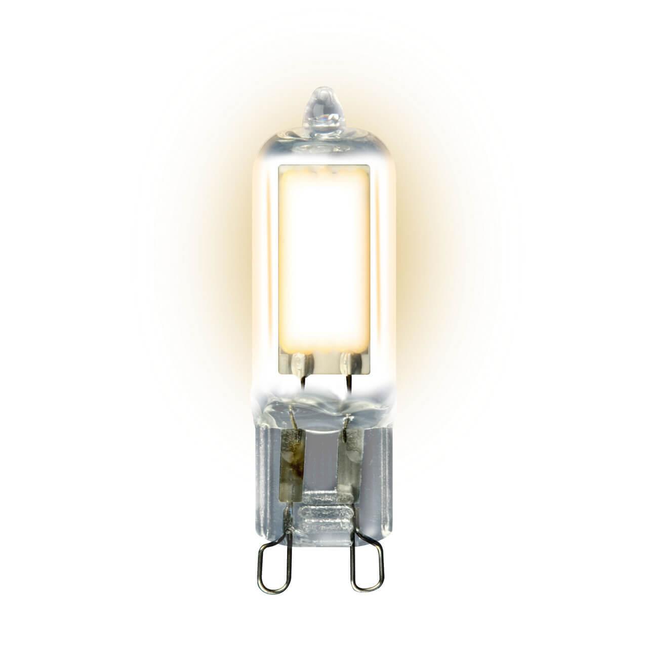 Лампочка Uniel LED-JCD-4W/WW/G9/CL GLZ01TR JCD