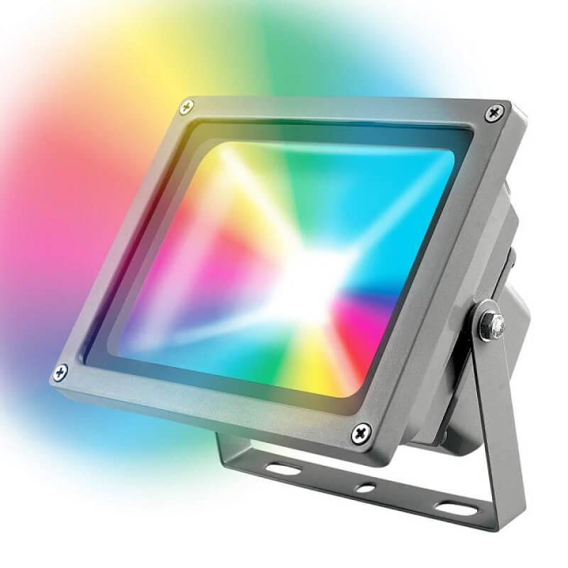 Прожектор Uniel ULF-S01-10W/RGB/RC IP65 110-240В ULF-S01