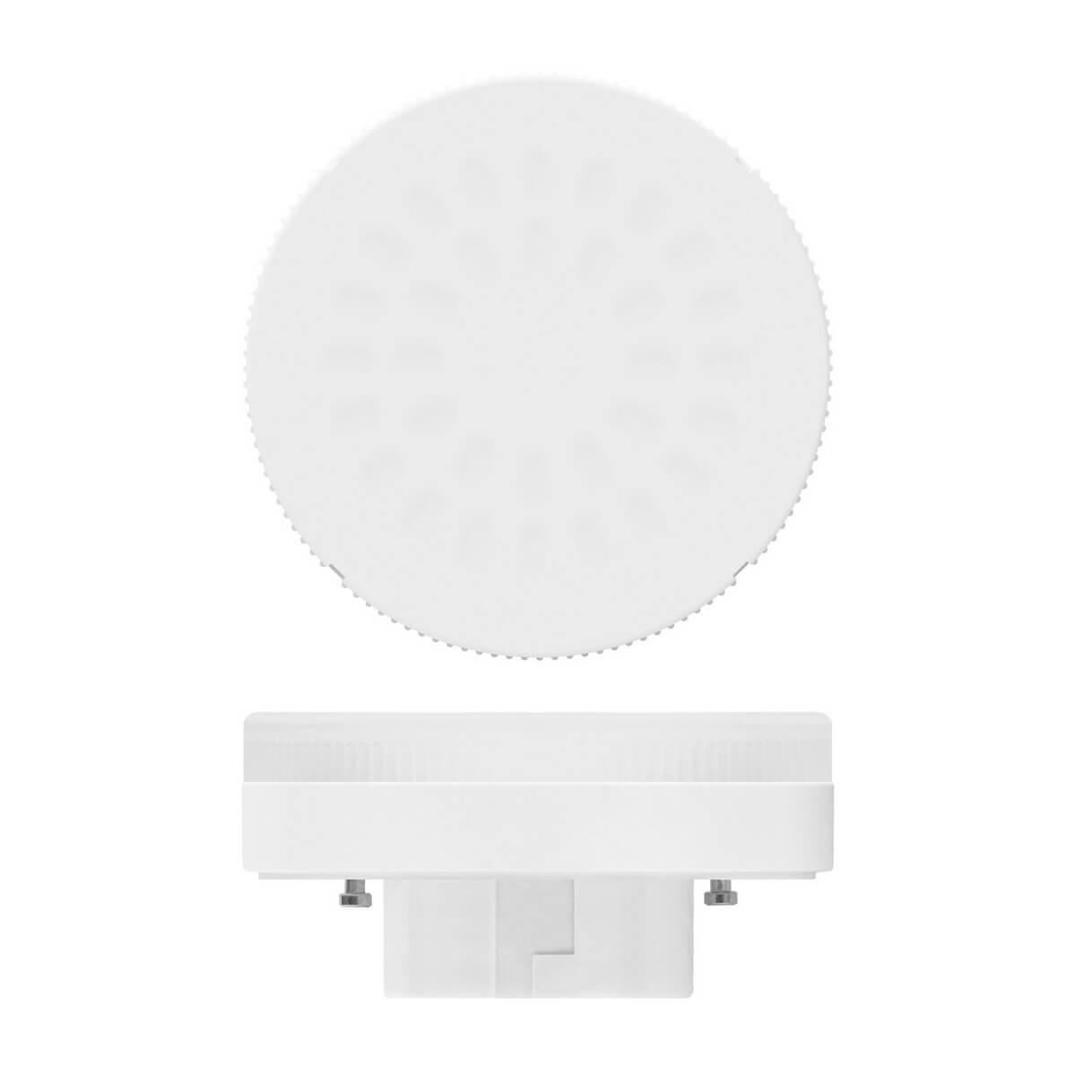 купить Лампа светодиодная (UL-00001669) Uniel GX53 6W 4000K матовая LED-GX53-6W/NW/GX53/FR PLZ01WH по цене 93 рублей