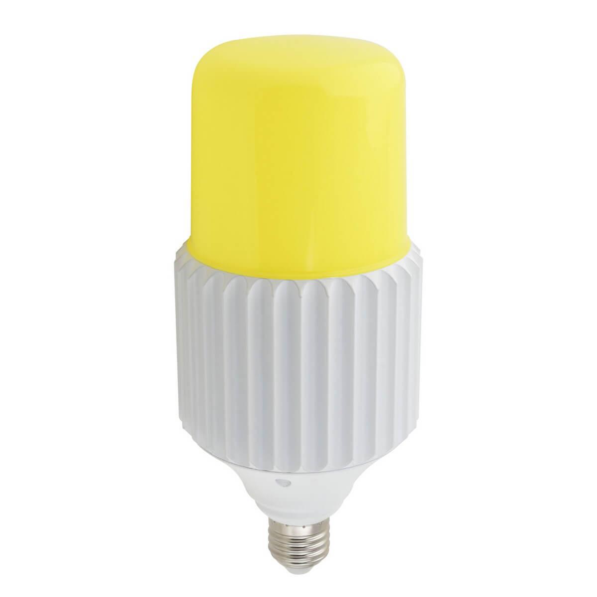 все цены на Лампа светодиодная сверхмощная (UL-00004079) Uniel E27 80W 6000K желтая LED-MP200-80W/6000K/E40/PH ALP06WH онлайн