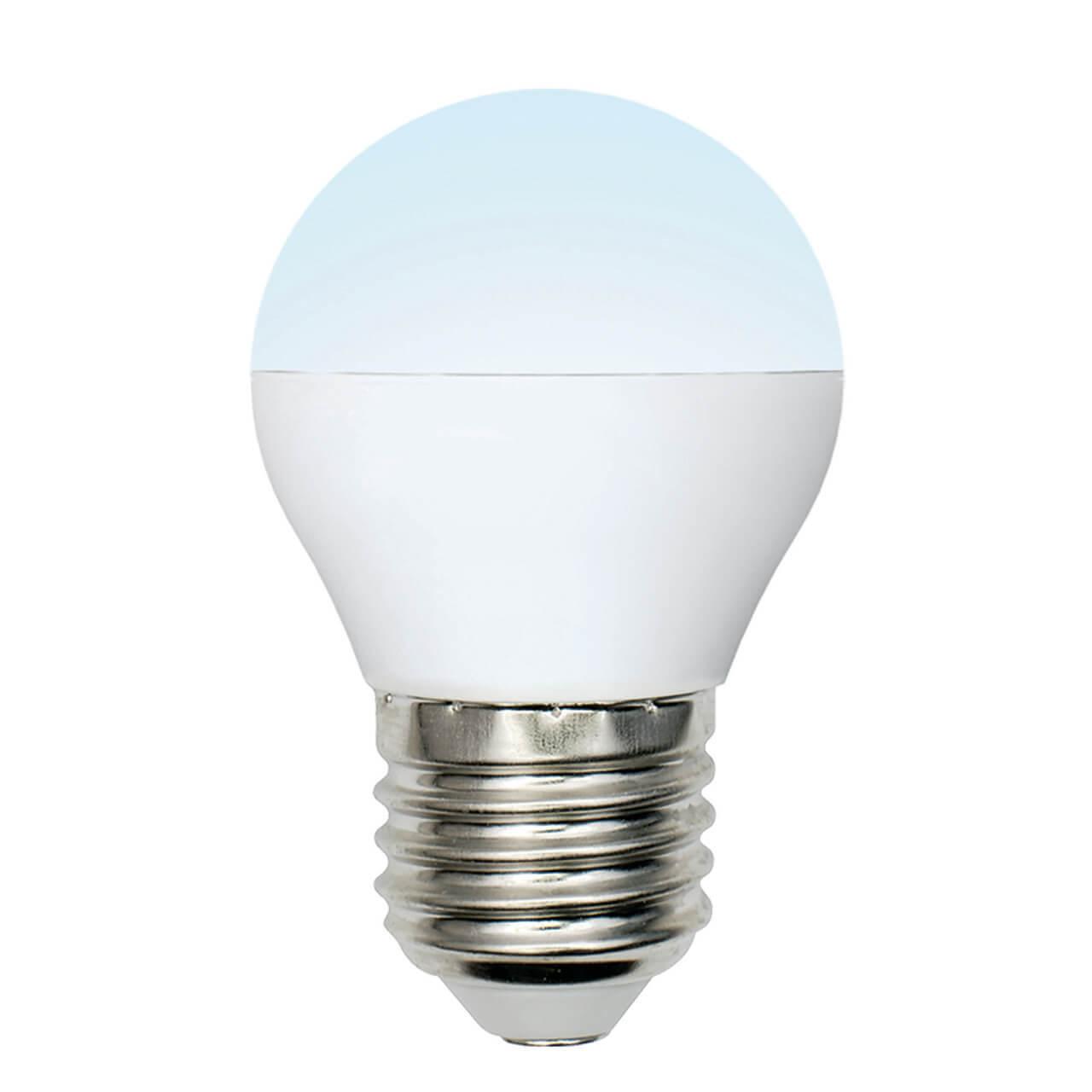 Лампочка Uniel LED-G45-6W/NW/E27/FR/MB PLM11WH Multibright G фото