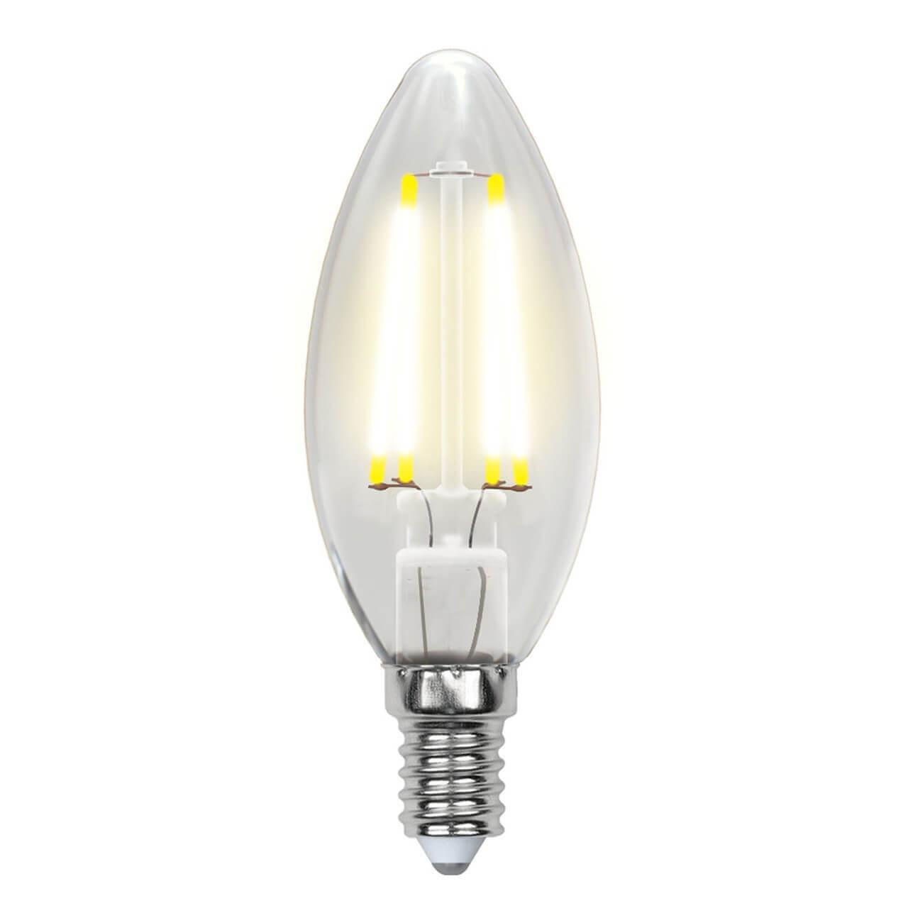 цена на Лампочка Uniel LED-C35-6W/NW/E14/CL GLA01TR AIR C