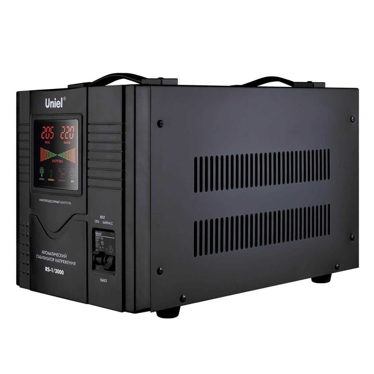 Стабилизатор Uniel RS-1/3000 RS-1 фото
