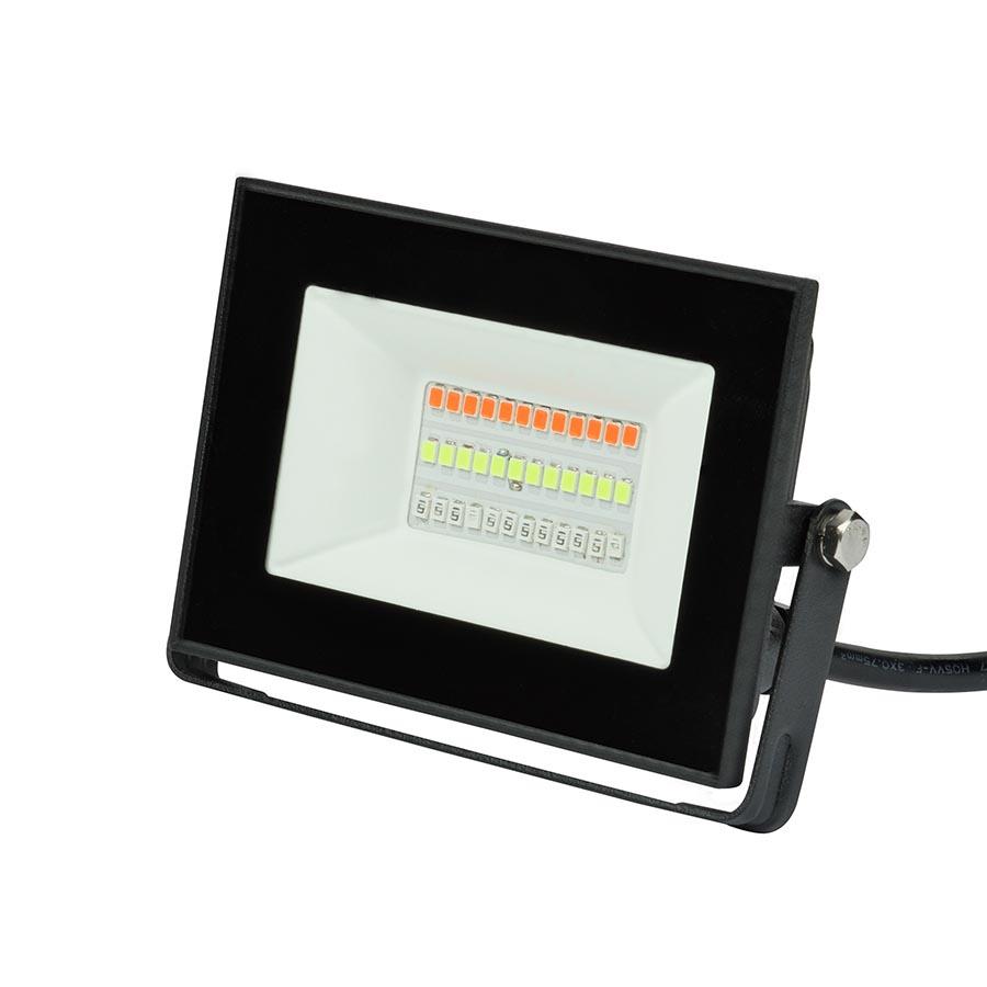 Прожектор Uniel ULF-F60-20W/RGB IP65 200-240В Black F60