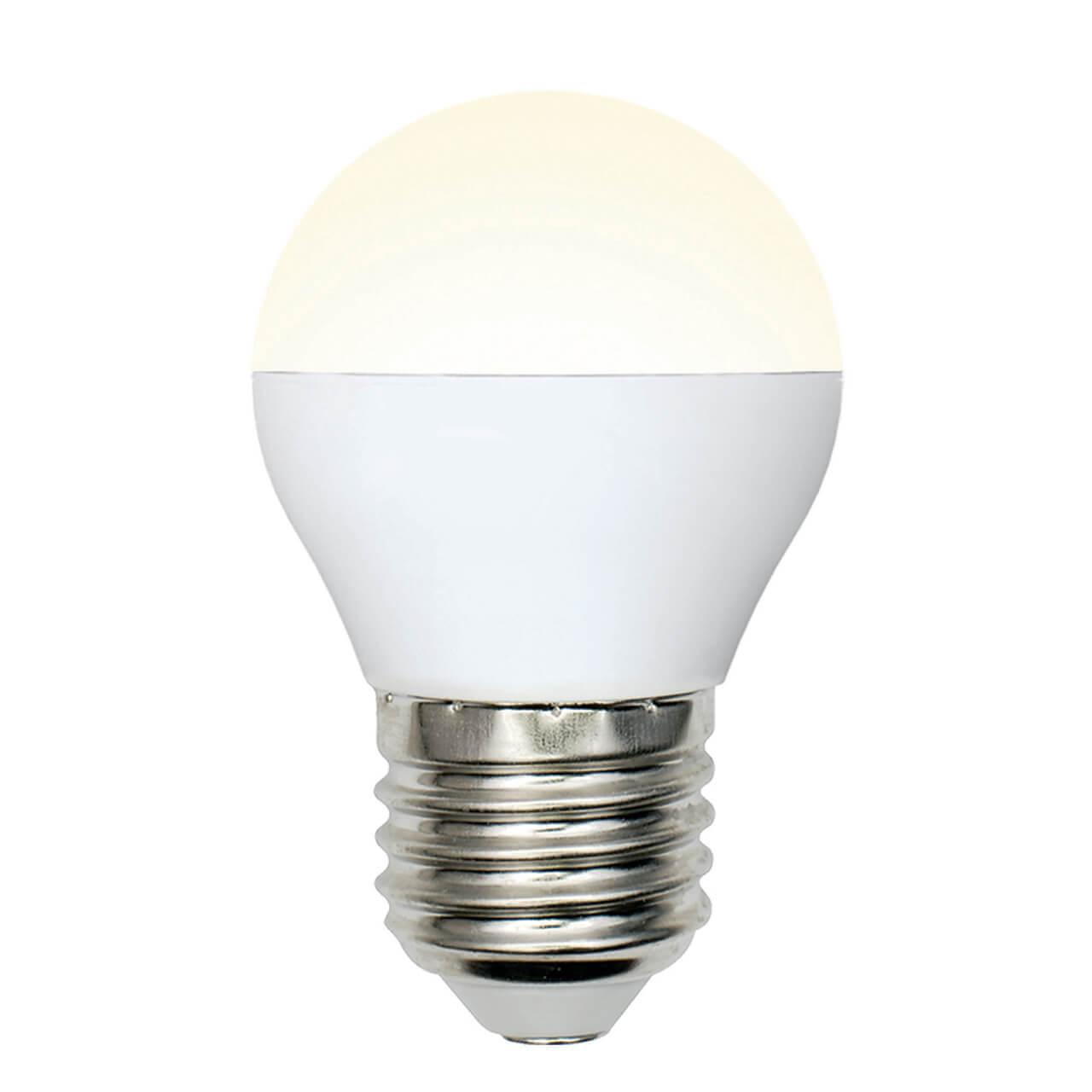 цена на Лампа светодиодная (UL-00002377) E27 6W 3000K матовая LED-G45-6W/WW/E27/FR/MB PLM11WH