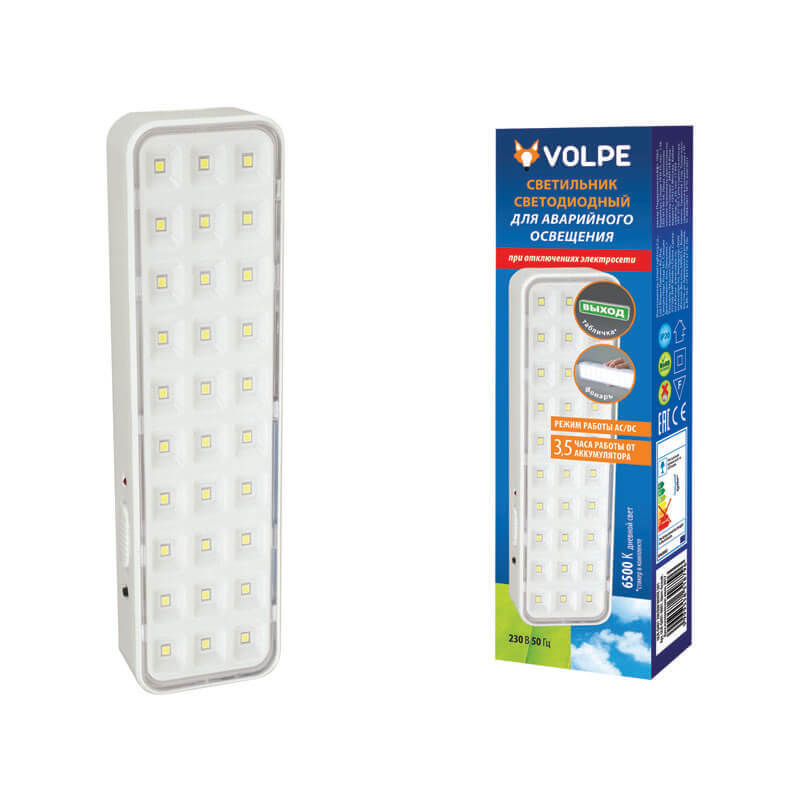 Светильник Volpe ULR-Q401 2W/DW White S01 ULR-Q401 фото