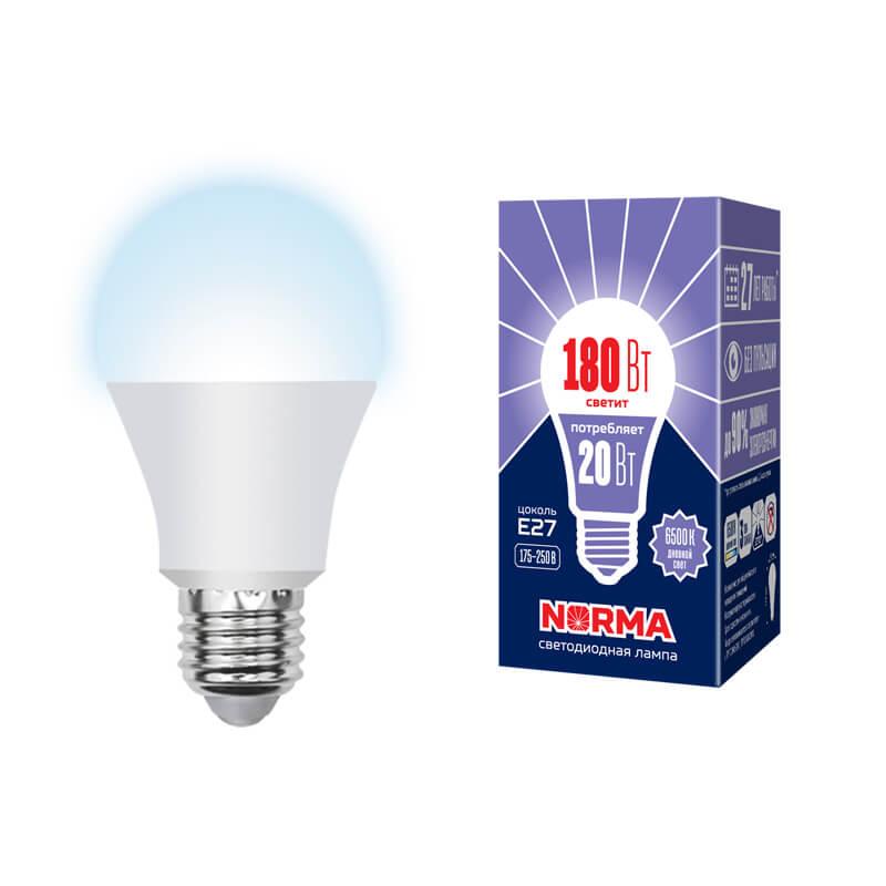 лампочка ecola classic led premium 20w a65 220 240v e27 6500k d7rd20elc Лампочка Volpe LED-A65-20W/DW/E27/FR/NR Norma A