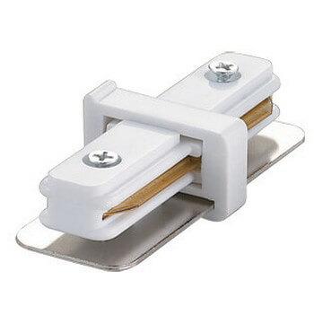 цены Соединитель для 2-х шинопроводов прямой внутренний (10573) Volpe UBX-Q121 K11 WHITE